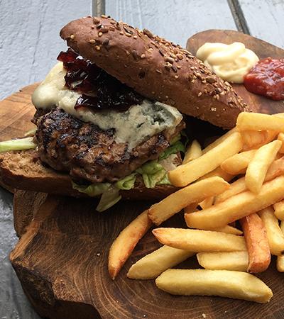 Onbeperkt hamburgers eten De Gulle Gans